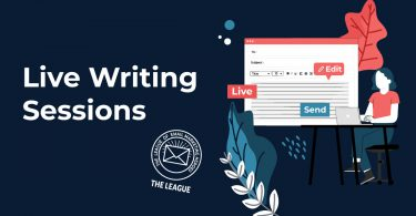 Live Email Writing Sessions in The League