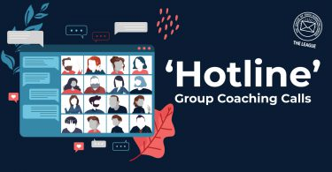 Group Coaching Calls in The League - Aka The Hotline